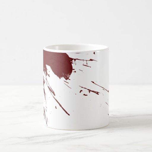 Blood Splatter Design Coffee Mug