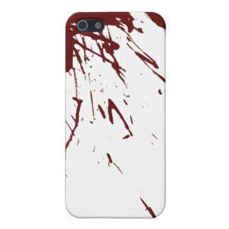 Blood Splatter Design iPhone SE/5/5s Cover