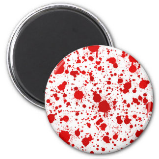Blood Splatter ... Dexter Would Kill For This 2 Inch Round Magnet