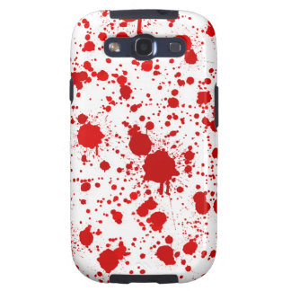 Blood Splatter ... Dexter Would Kill For This Galaxy SIII Covers