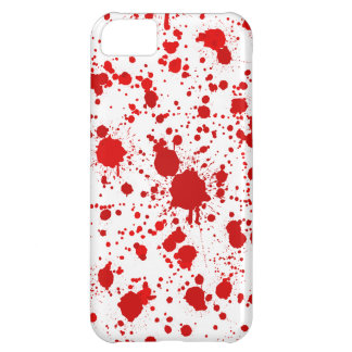 Blood Splatter ... Dexter Would Kill For This Cover For iPhone 5C