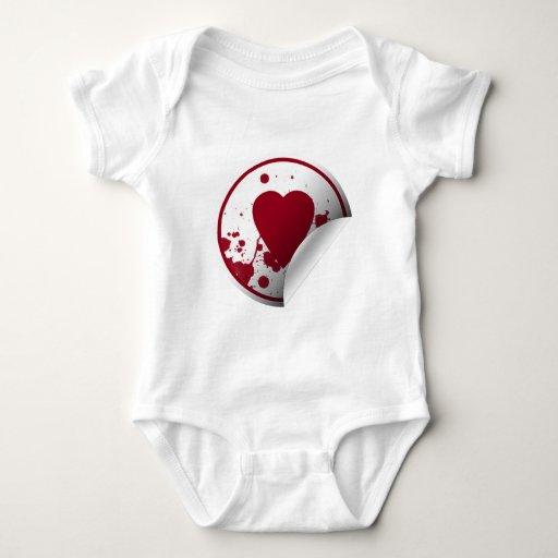 Blood Splatter Heart T-shirt