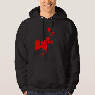Blood Splatter Hoodie