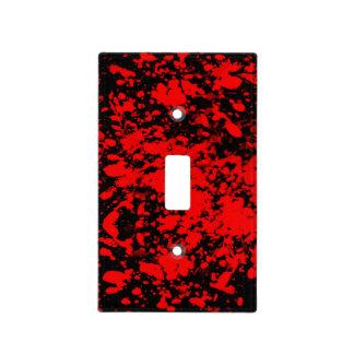 Blood Splatter Light Switch Cover