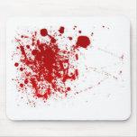 Blood Splatter Mouse Pads