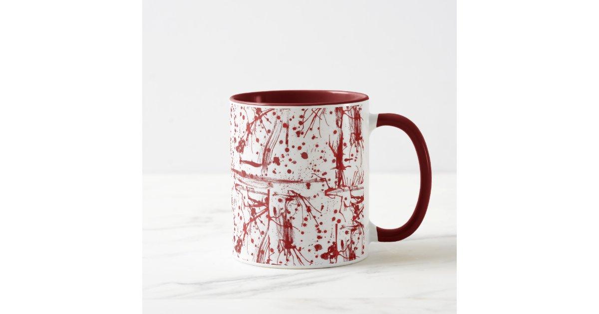 blood splatter coffee mugs - photo #29