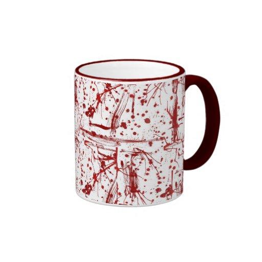 blood splatter coffee mugs - photo #26