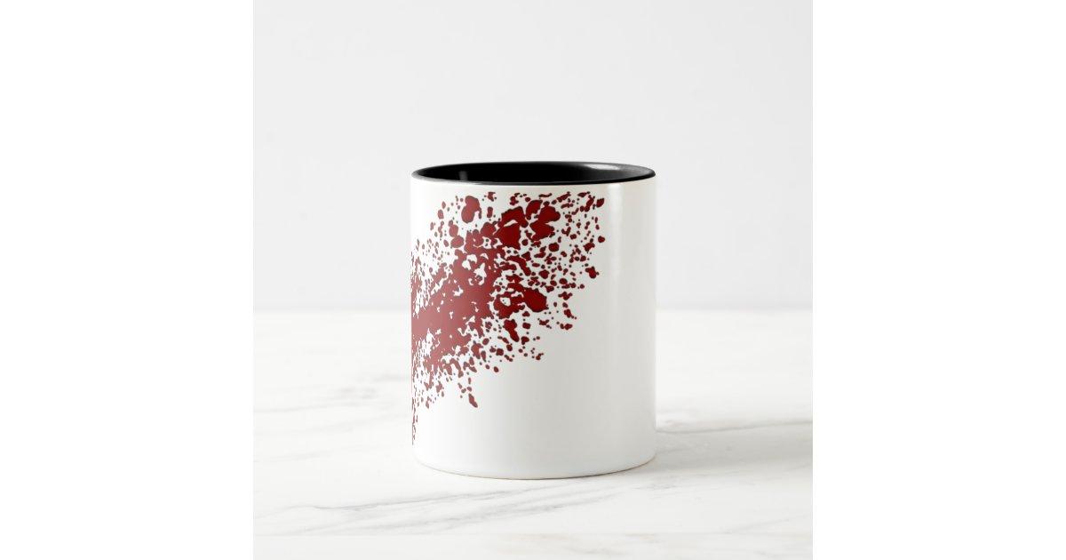 blood splatter coffee mugs - photo #24