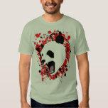 Blood Splatter Panda Tee Shirt