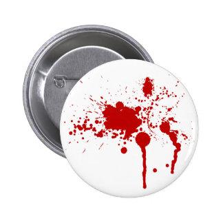 Blood Splatter Pinback Buttons
