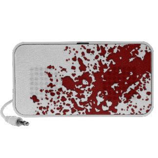 Blood Splatter Portable Speakers