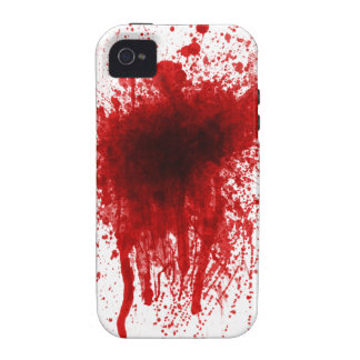 Blood Splatter Realistic Case For The iPhone 4