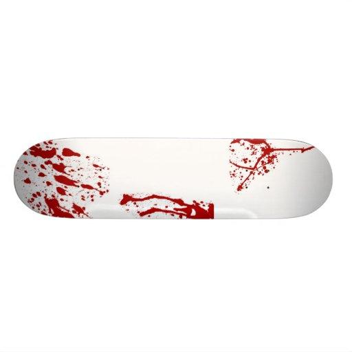 Blood Splatter Skateboard Pro