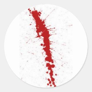 blood splatter stickers