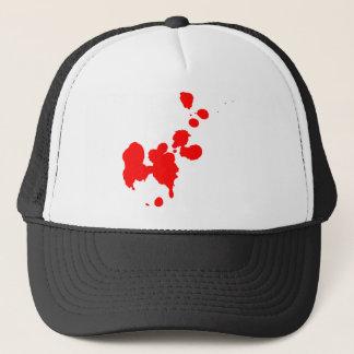 Blood Splatter Trucker Hat