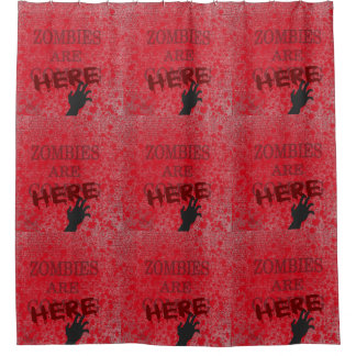 Bloody Shower Curtains | Zazzle