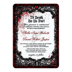 Halloween wedding invitations bino9terrains halloween wedding invitations filmwisefo