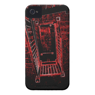 Blood Splattered Stairs iPhone 4 Cover
