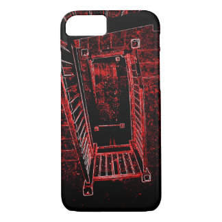 Blood Splattered Stairs iPhone 8/7 Case