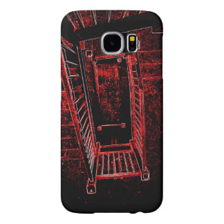Blood Splattered Stairs Samsung Galaxy S6 Cases