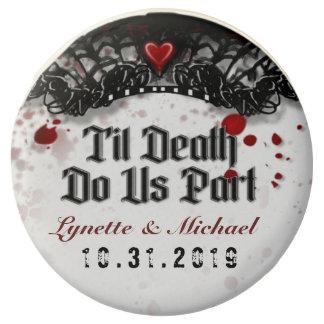 Blood Splattered Til Death Do Us Part Halloween Chocolate Covered Oreo