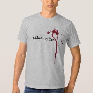 blood-splatters, Vilot-Pulse Tees