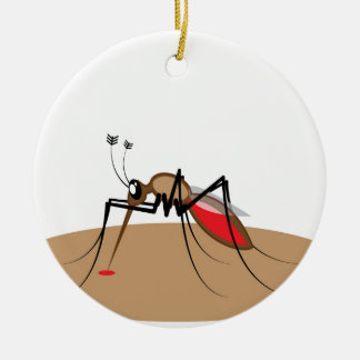 Blood sucking Insect Ceramic Ornament