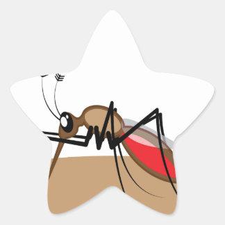 Blood sucking Insect Star Sticker