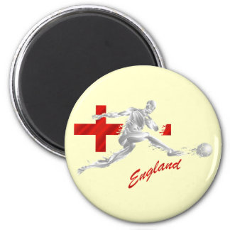 Blood Sweat and England - football fans gifts 2 Inch Round Magnet