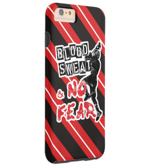 Blood, Sweat and No Fear Lacrosse Phone Case
