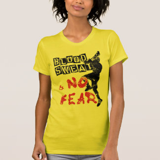 Blood, Sweat and No Fear Lacrosse Tshirt
