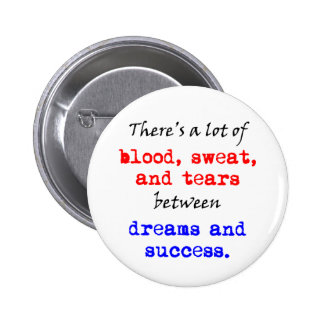 Blood Sweat and Tears Button