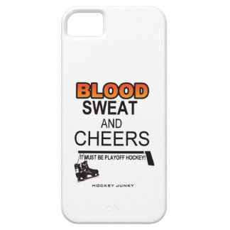 BLOOD SWEAT & CHEERS iPhone 5 CASES