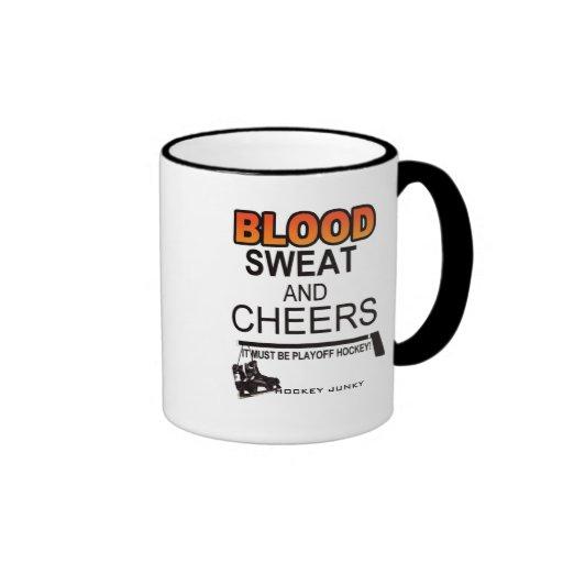 BLOOD SWEAT CHEERS MUGS
