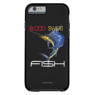 BLOOD SWEAT FISH TOUGH iPhone 6 CASE