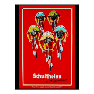 """Blood Sweat & Gears & the Tour de France"" Poster"