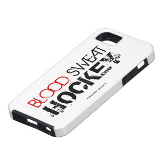 BLOOD SWEAT HOCKEY iPhone SE/5/5s CASE
