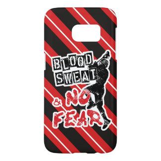 Blood Sweat & No Fear Lacrosse Samsung Case