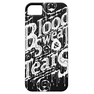 Blood, Sweat, & Tears - Iphone 5/5S Case (Black)