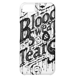 Blood, Sweat, & Tears - Iphone 5C Case (White)