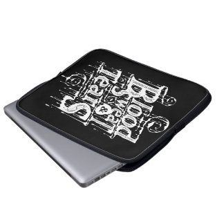 Blood, Sweat, & Tears - Laptop Sleeve (Black)