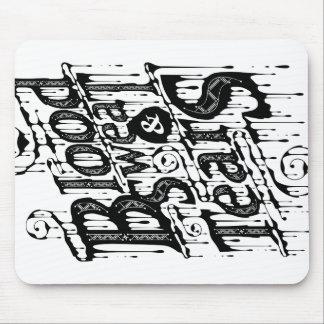 Blood, Sweat, & Tears - Mousepad (White)