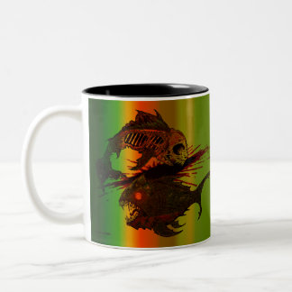 blood thirsty Two-Tone coffee mug