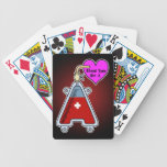 Blood type A Bicycle Poker Deck