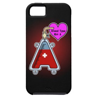 Blood type A iPhone 5 Case