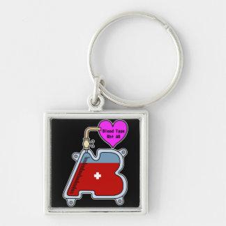 Blood type AB Keychain