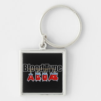 Blood type All Keychain