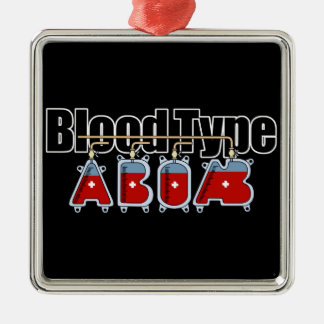 Blood type All Metal Ornament