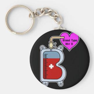 Blood type B Keychain