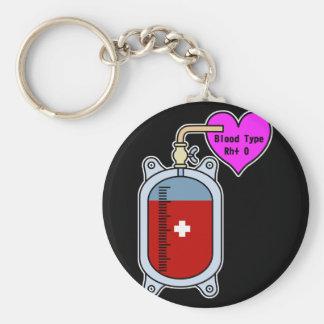 Blood type O Keychain